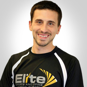 Dr. Darren Holmes Sports Chiropractor at Elite Sports and Spine Chiropractic
