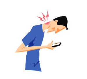 Neck pain and headache treatment, tech neck, text neck, forward head posture